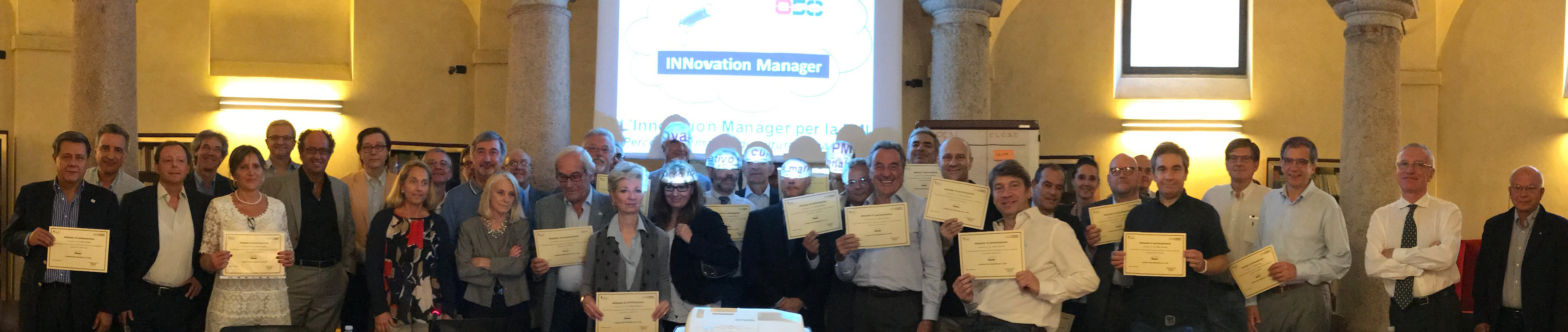 "Corso "" L'Innovation Manager per la PMI"""