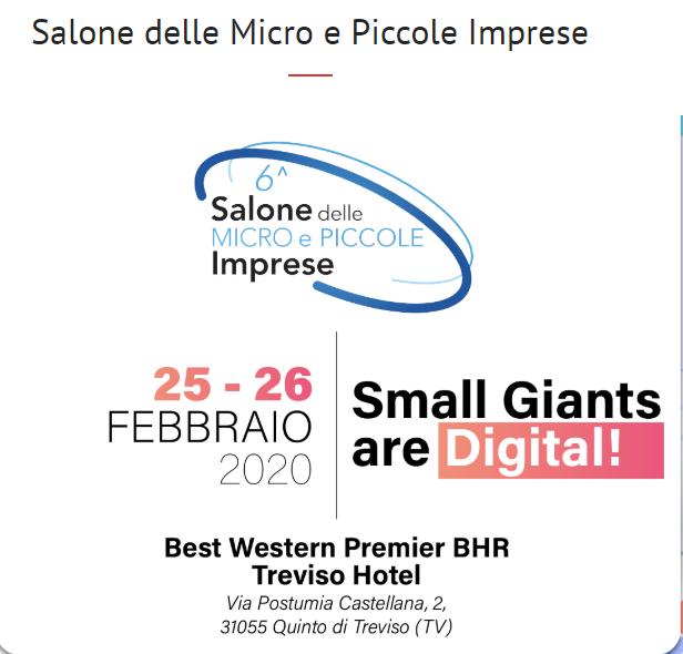 Salone delle Micro e Piccole Imprese Treviso 2020